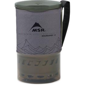 MSR WindBurner Accessory Extra Pot 1L spray bottle, gray
